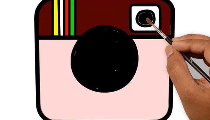 Как нарисовать Инстаграм
