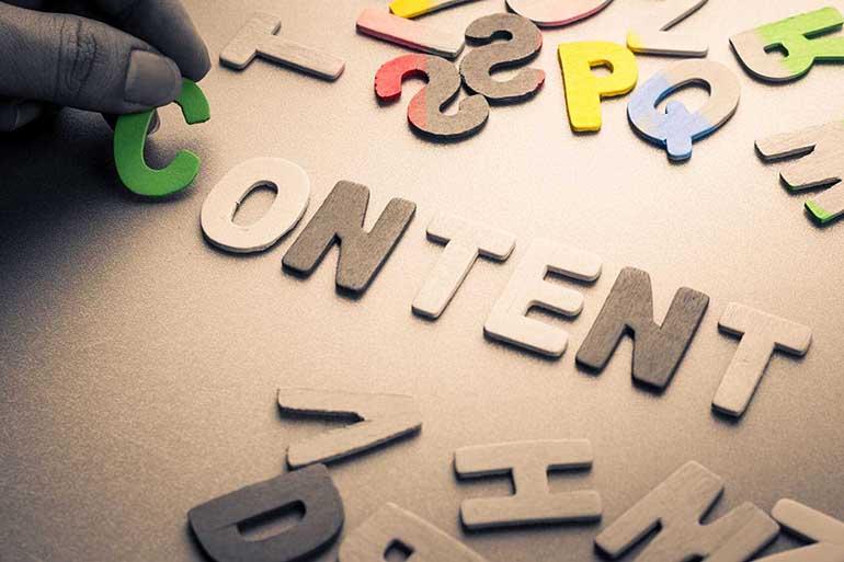 Текстовый контент