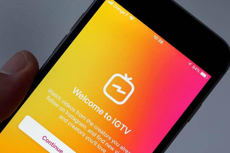Удалить IGTV в Инстаграм