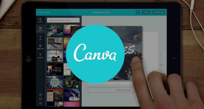 Аватарка для инстаграм канва