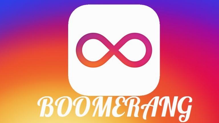 Гиф в инстаграме Boomerang