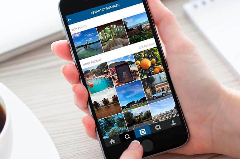 Instagram сохранил мои фото