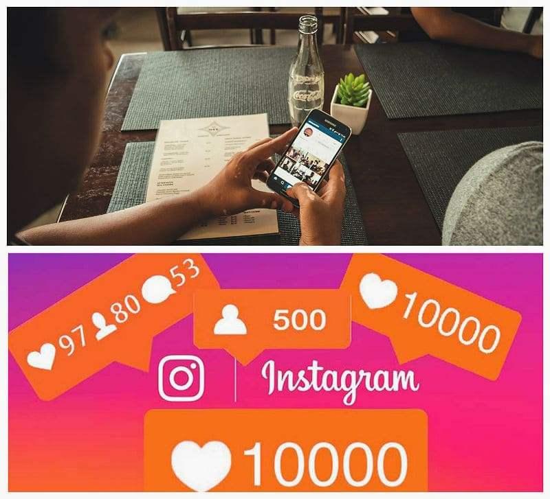 Массфолловинга в instagram