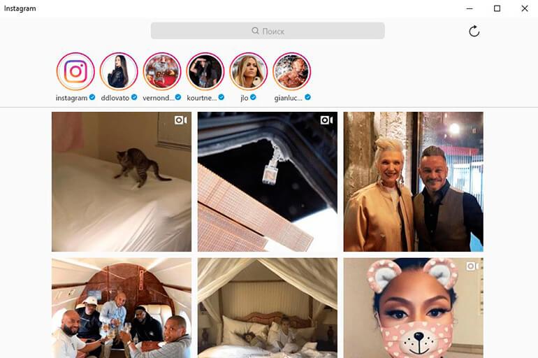 Поиск по фото в Инстаграм