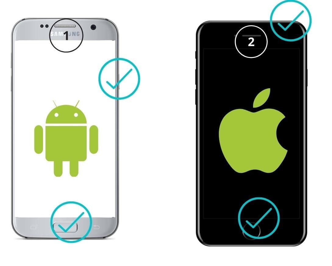 кнопки андроид