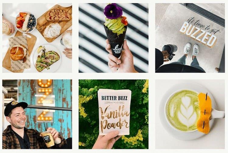 Идеи для коммерческих фото в Instagram