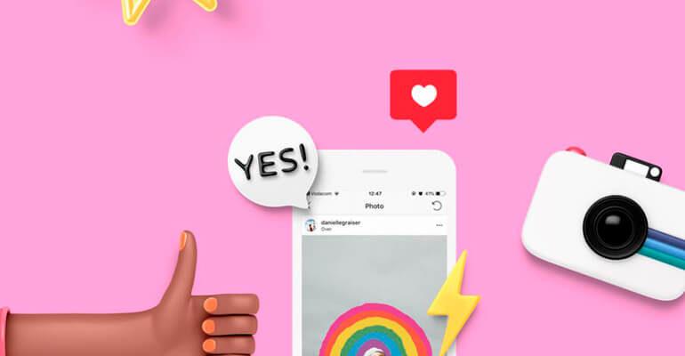 Как сделать свои стикеры в Инстаграм