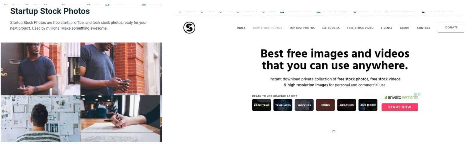 Сайты с фото