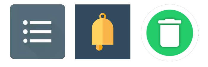 Логотипы программ для чтения сообщений