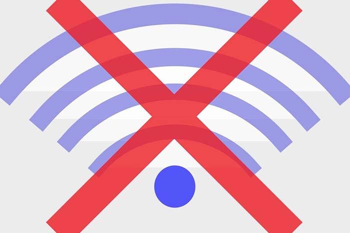 Отсутствие интернета