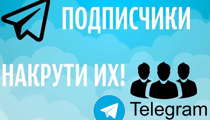 Накрутка подписчиков в Телеграмм