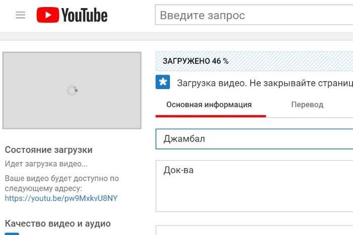 Обрезать видео с Ютуба