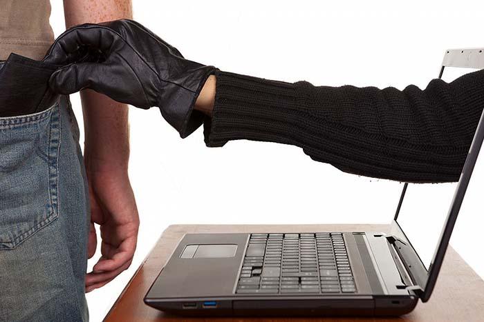 Атака мошенника